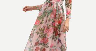 بالصور فساتين شيفون , احلى الفساتين الشيفون صور روعه 117 9 310x165