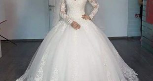 فساتين افراح , اجمل فستان زفاف حصرى