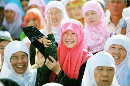 بالصور صور بنات كوريات محجبات , بنات كوريا المسلمات بالصور 327 5