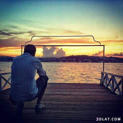 بالصور صور شباب على البحر , تامل البحر بالصور 363 4