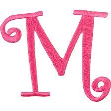 صوره حرف M , تشكيلة زخارف لحرف m روعه