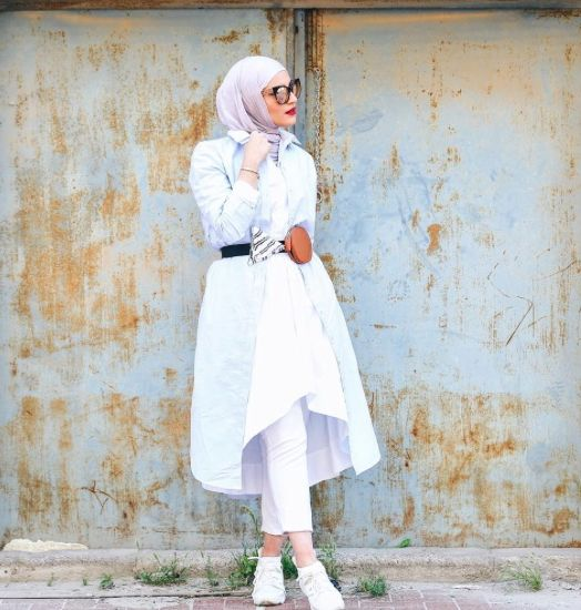 بالصور موديلات قمصان طويلة كويتية , قميص كويتى 469 2