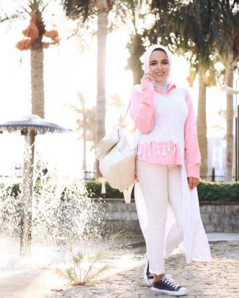 بالصور موديلات قمصان طويلة كويتية , قميص كويتى 469 4