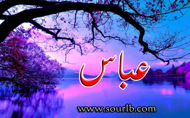 بالصور صور اسم عباس , مجموعه مختلفة لصور اسم عباس 484 9