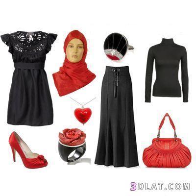 صورة ازياء محجبات , كولكشن ملابس محجبات روعه 599 2