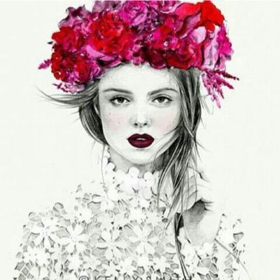 بالصور صور بنات جميلات رسم , رسومات بنت كيوت جديد بالصور 602 2