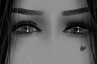 صوره صور عيون حزينه , اجمل صور العيون الحزينة المؤلمة