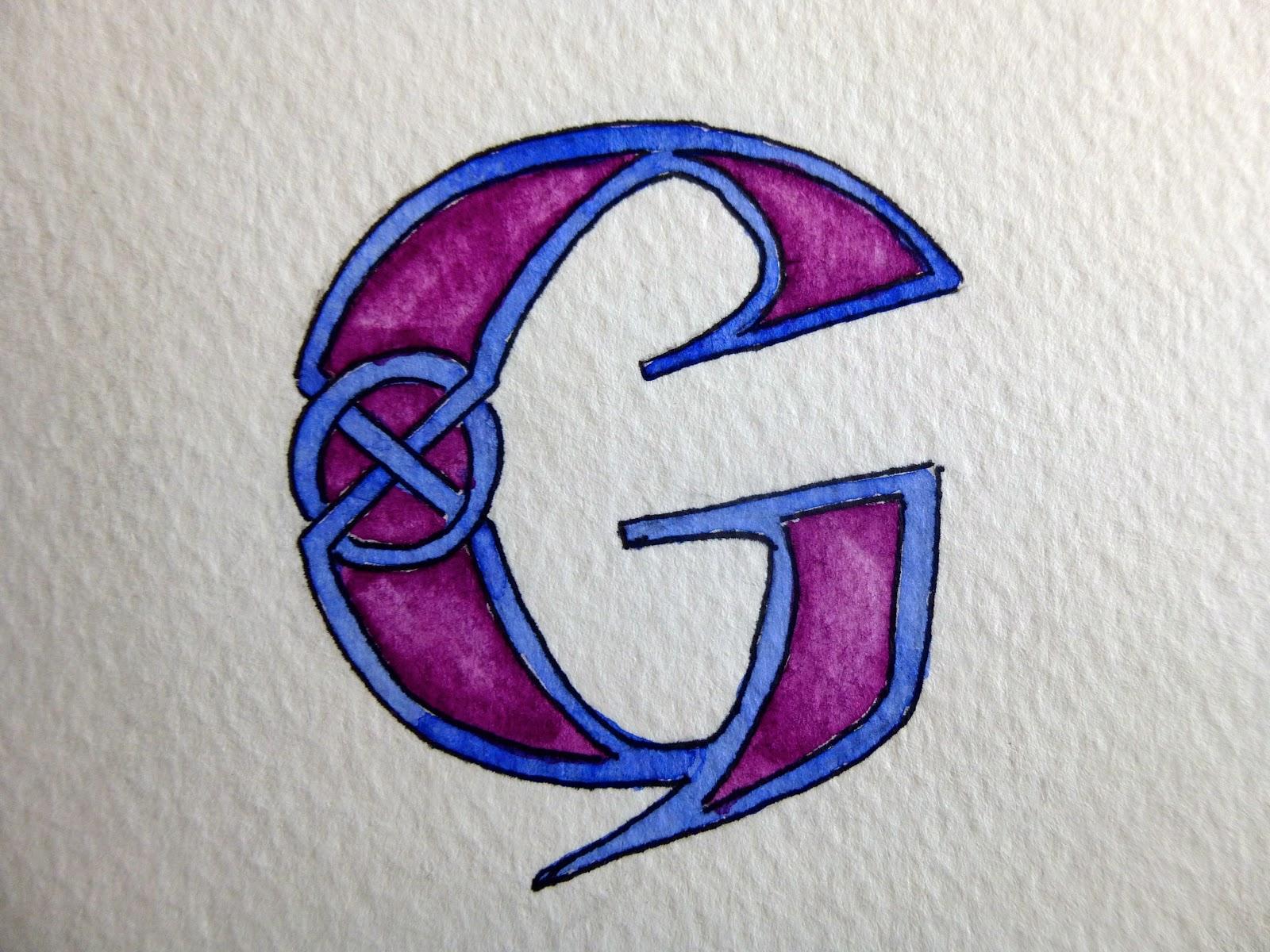 صوره صور حرف g , بوستات عليها حرف ال g