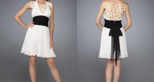 صوره فساتين قصيرة تركية , احلي فستان قصير تركي