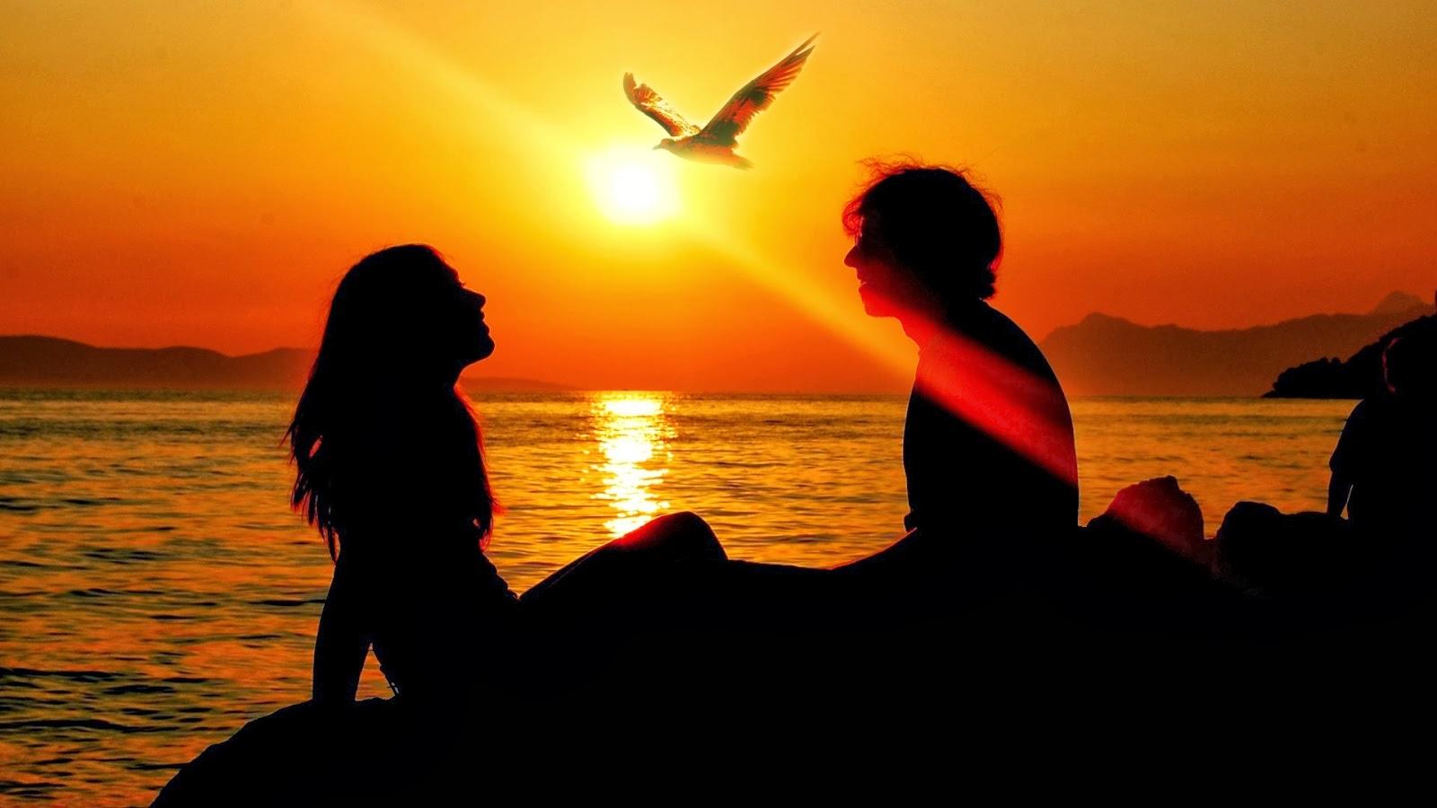 بالصور صور حب من غير كلام , بوستات حب ورومانسية بدون كلمات 4886 4