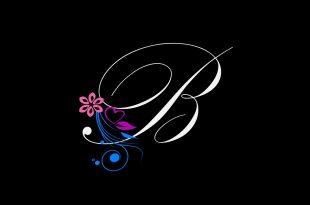 صورة صور حرف b , بوستات عليها حرف B