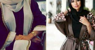 صوره عبايات خليجية 2018 , اجمل واروع العبايات الخليجي
