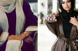صور عبايات خليجية 2019 , اجمل واروع العبايات الخليجي
