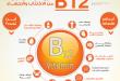 صور فيتامين b12 , فوائد واعراض نقص فيتامين b12