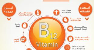 بالصور فيتامين b12 , فوائد واعراض نقص فيتامين b12 3139 1 310x165