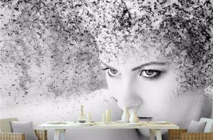 صوره صور ورق جدران , اشيك ورق حائط ممكن ان تزين بيه منزلك