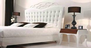 صورة غرف نوم بيضاء , اجمل اوض للنوم بيضة