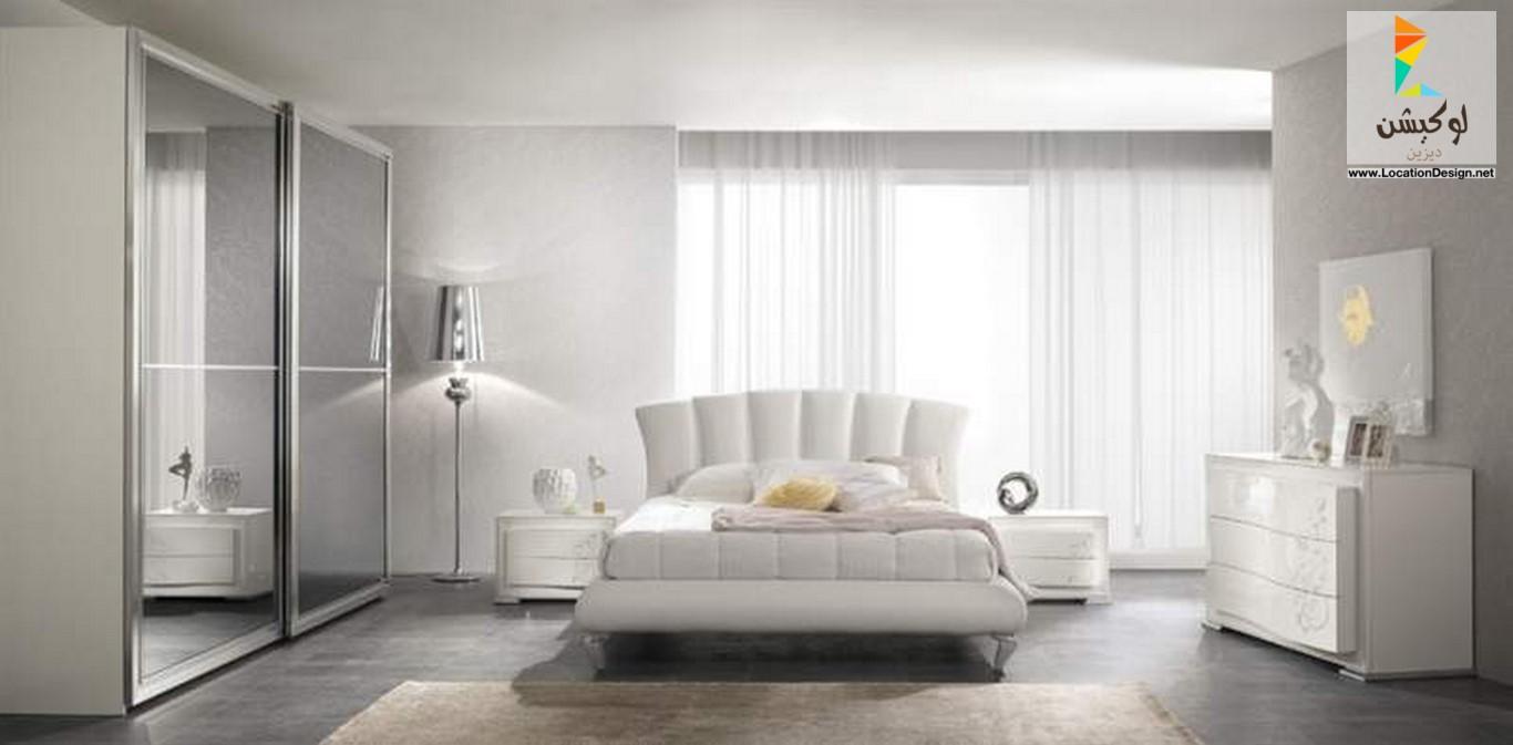 بالصور غرف نوم بيضاء , اجمل اوض للنوم بيضة 5133 3