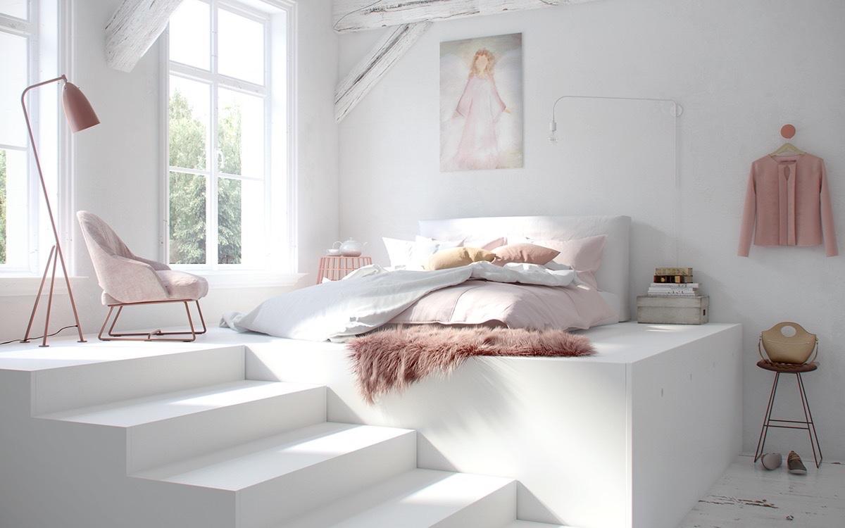 بالصور غرف نوم بيضاء , اجمل اوض للنوم بيضة 5133 5