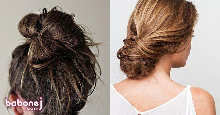 بالصور تسريحات بسيطة للشعر الطويل , اجمل تسريحات الشعر الطويل 5200 1