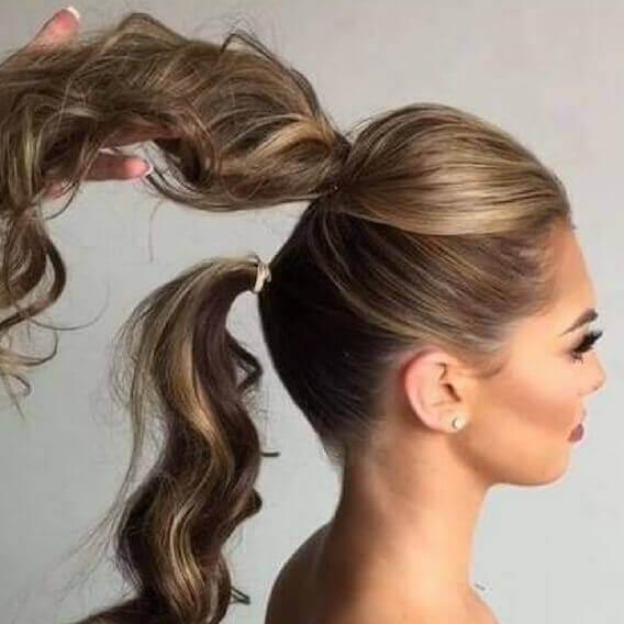 بالصور تسريحات بسيطة للشعر الطويل , اجمل تسريحات الشعر الطويل 5200 4