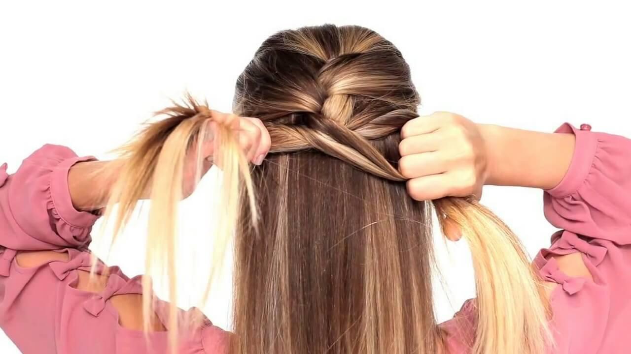 بالصور تسريحات بسيطة للشعر الطويل , اجمل تسريحات الشعر الطويل 5200 6