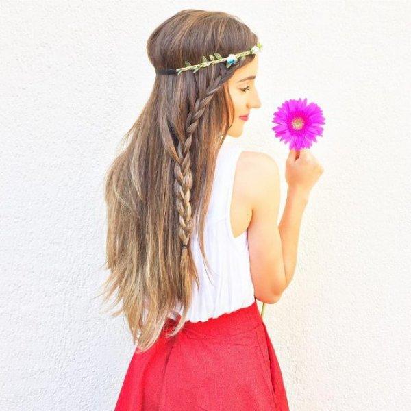 بالصور تسريحات بسيطة للشعر الطويل , اجمل تسريحات الشعر الطويل 5200 7