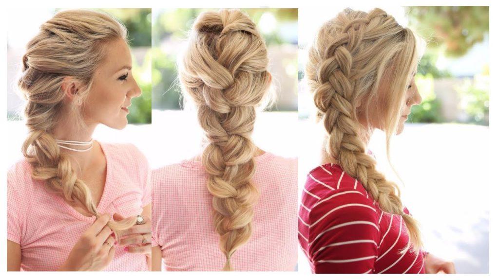 بالصور تسريحات بسيطة للشعر الطويل , اجمل تسريحات الشعر الطويل 5200 9