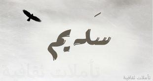 صور معنى سديم , معنى اسم سديم واذا كان مخالف للشرع ام لا