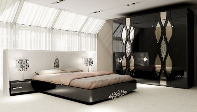 صورة غرف نوم مودرن ايطالى , ديكورات انيقة لغرف النوم
