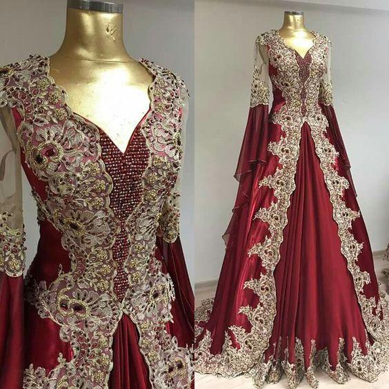 بالصور قنادر جزائرية , شكل الملابس التقليدية للجزائر 3222 10