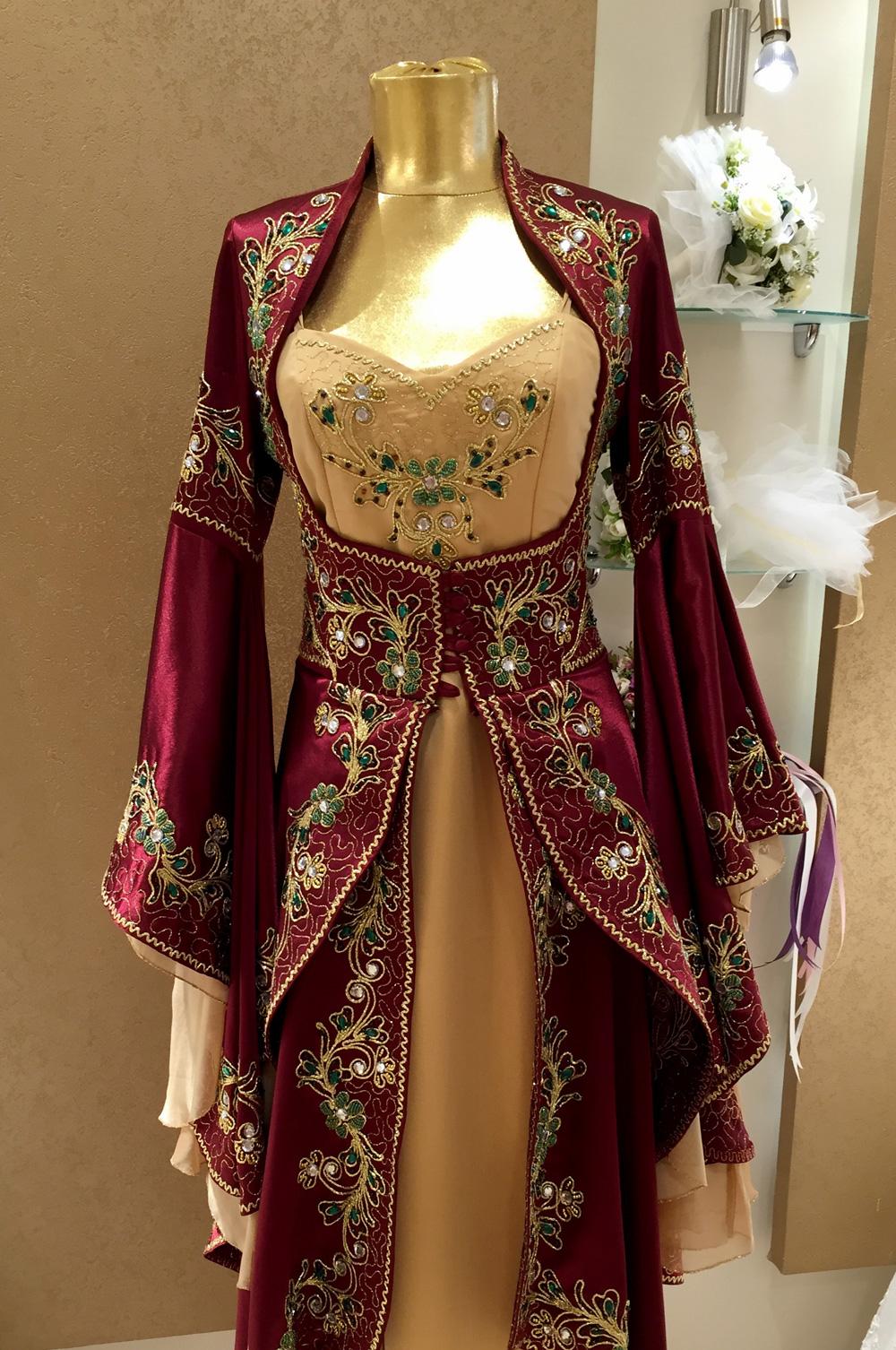 بالصور قنادر جزائرية , شكل الملابس التقليدية للجزائر 3222 12