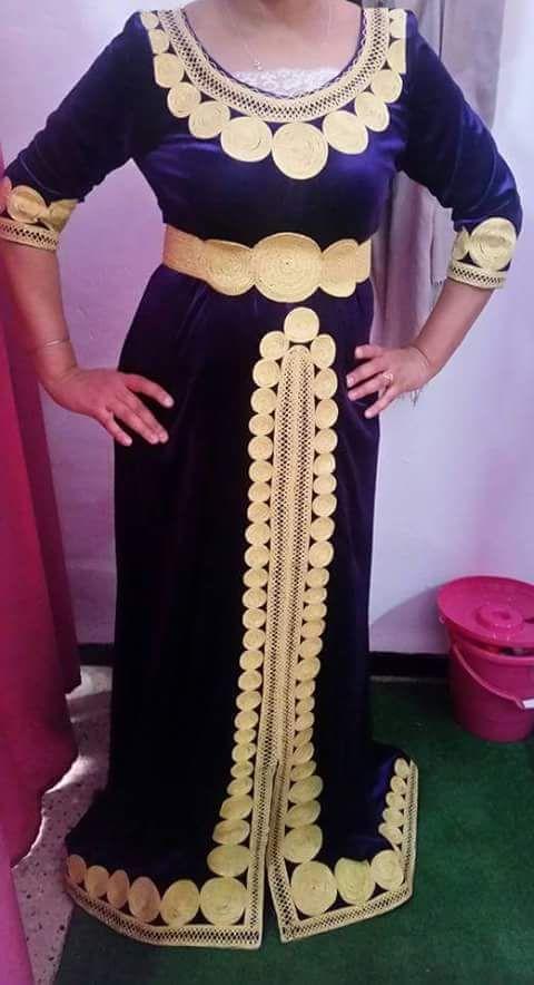 بالصور قنادر جزائرية , شكل الملابس التقليدية للجزائر 3222 3
