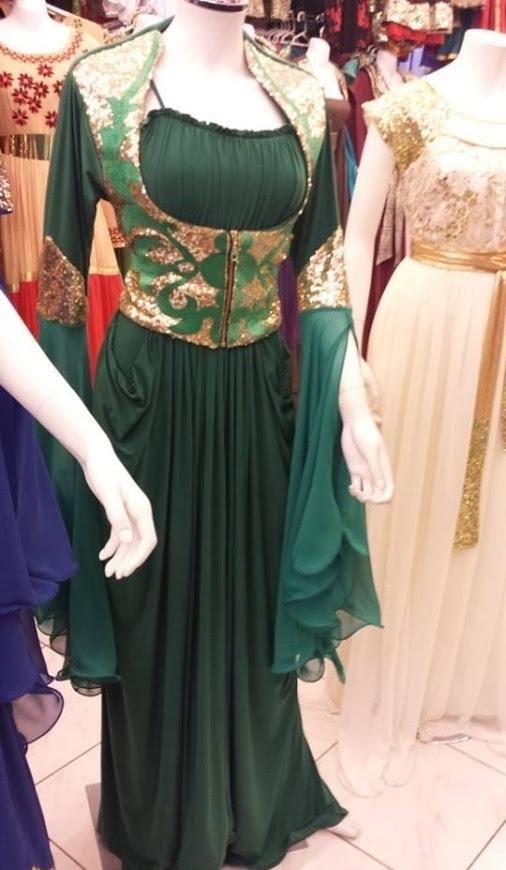 بالصور قنادر جزائرية , شكل الملابس التقليدية للجزائر 3222 5