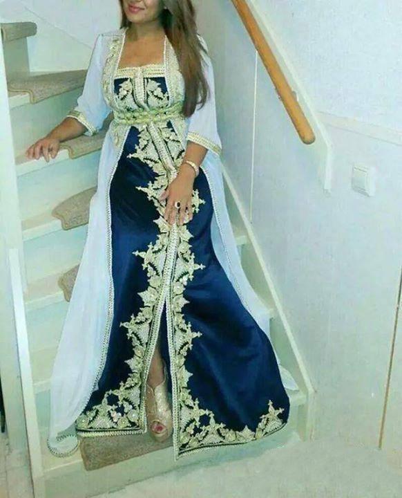 بالصور قنادر جزائرية , شكل الملابس التقليدية للجزائر 3222 6