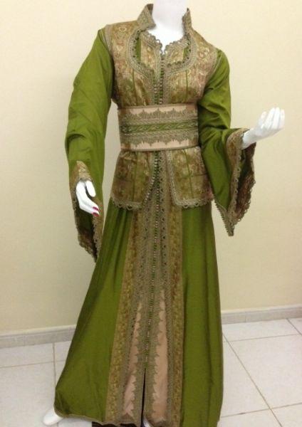 بالصور قنادر جزائرية , شكل الملابس التقليدية للجزائر 3222 7