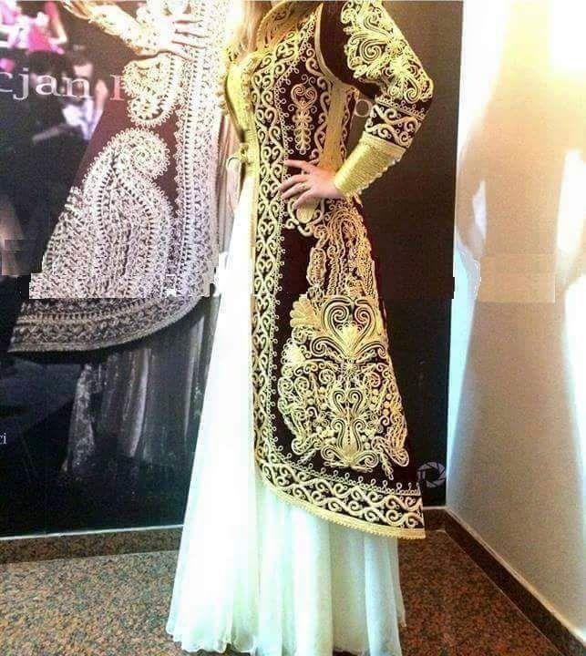 بالصور قنادر جزائرية , شكل الملابس التقليدية للجزائر 3222 9