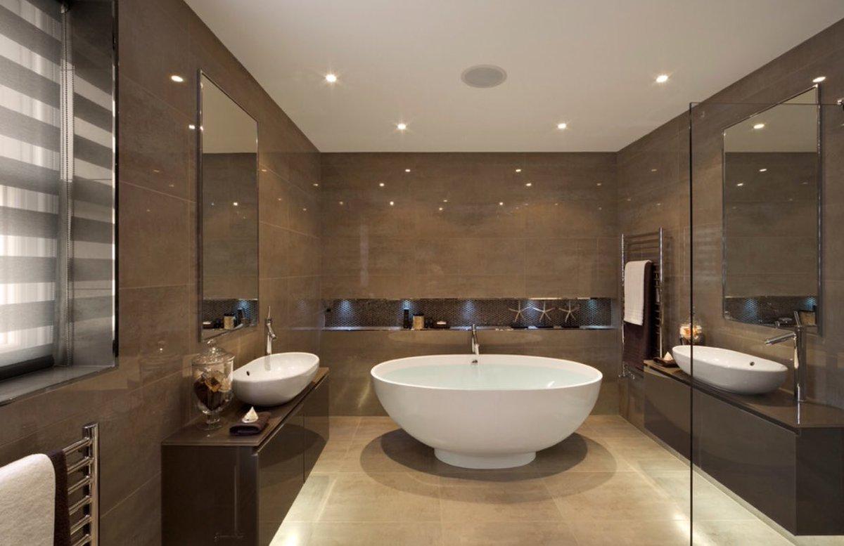صوره ديكور حمامات منازل , ديكورات تناسب جميع مساحات الحمامات