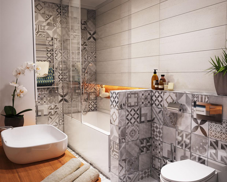 بالصور ديكور حمامات منازل , ديكورات تناسب جميع مساحات الحمامات 3254 12