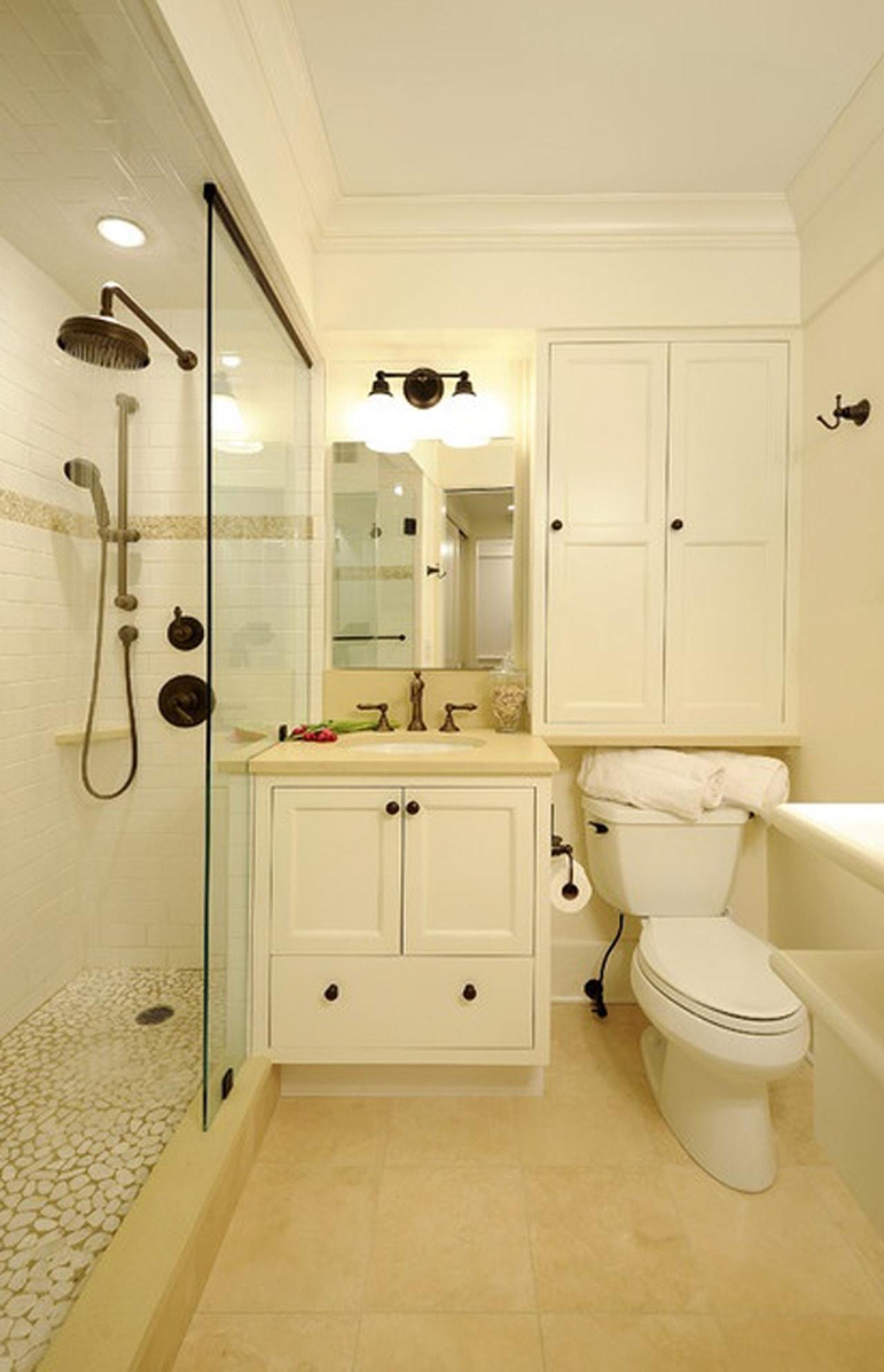 بالصور ديكور حمامات منازل , ديكورات تناسب جميع مساحات الحمامات 3254 14
