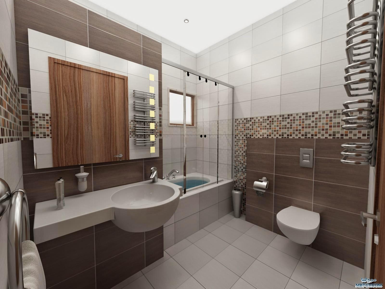بالصور ديكور حمامات منازل , ديكورات تناسب جميع مساحات الحمامات 3254