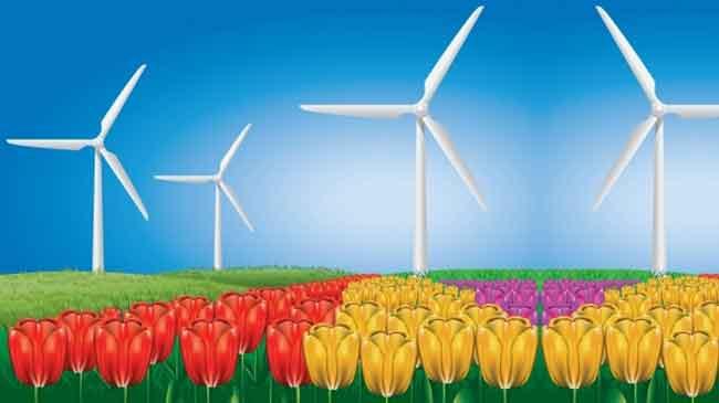 بالصور كيفية توليد الكهرباء من الرياح بطريقة بسيطة , كيف نحصل علي كهرباء من الرياح 7021 3