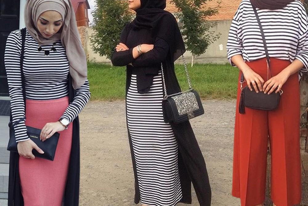 صور تنسيق الملابس للمحجبات , طريقة لابراز اناقتك وجمالك بحجابك