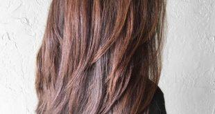 صورة قصات شعر طويل , شاهدى اجدد تسريحات لشعرك الجميل