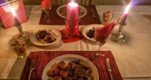 صورة عشاء رومانسي , جهزى لزوجك اجمل مائده للعشاء