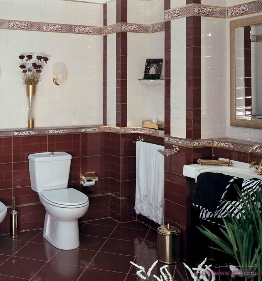 صورة اشكال سيراميك حمامات , تصميم خاص جدا للحمام الراقى