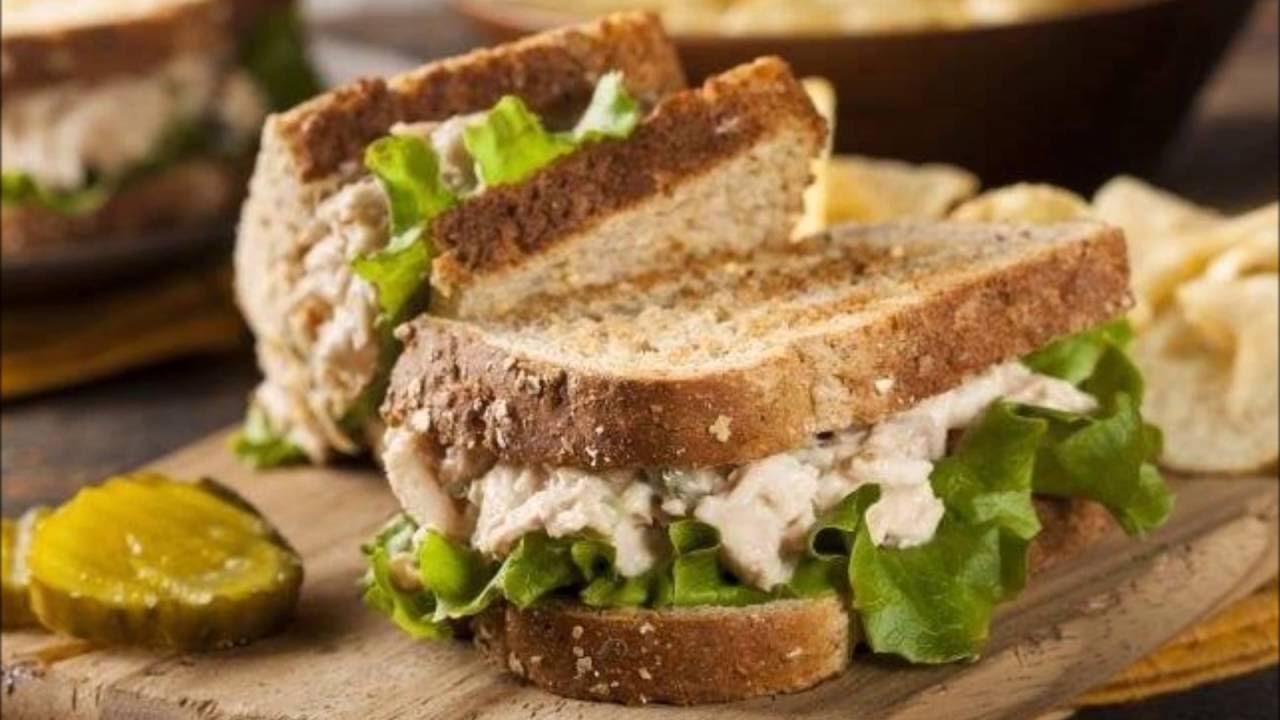 صورة وجبات سريعة للعشاء , ساندويش بالتونه يقضى على الجوع