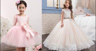 صورة فساتين سواريه اطفال , بنتك في فستان سواريه واو
