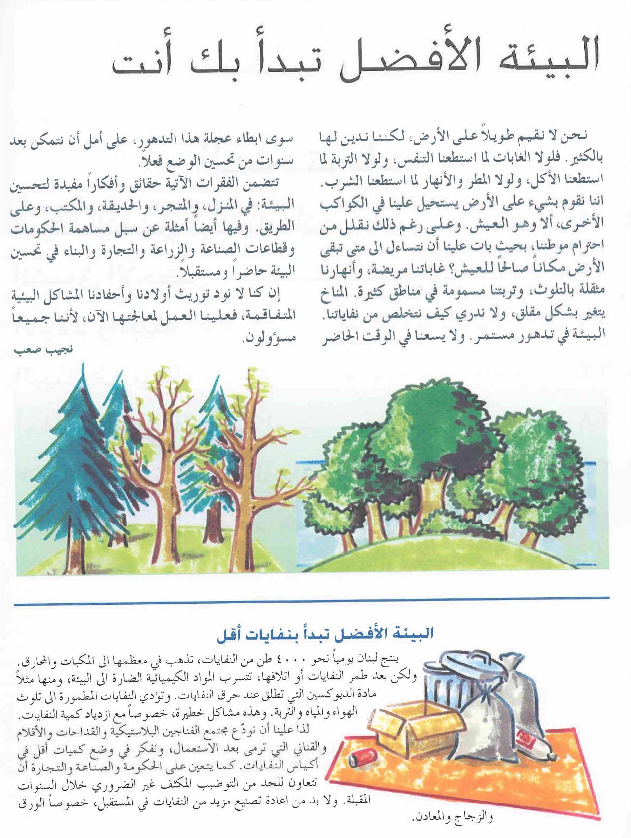 صورة تعبير عن البيئة , الحفاظ على البيئة من اهم الامور