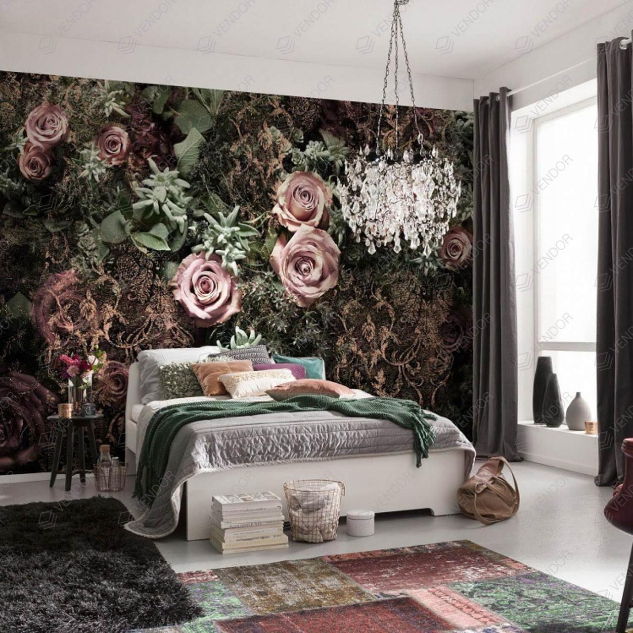 صورة اشكال ورق جدران , من احلى الديكورات التى تبرز شكل الشفة